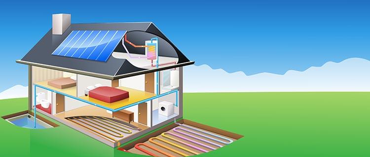 devis chauffage solaire Deuil-la-Barre